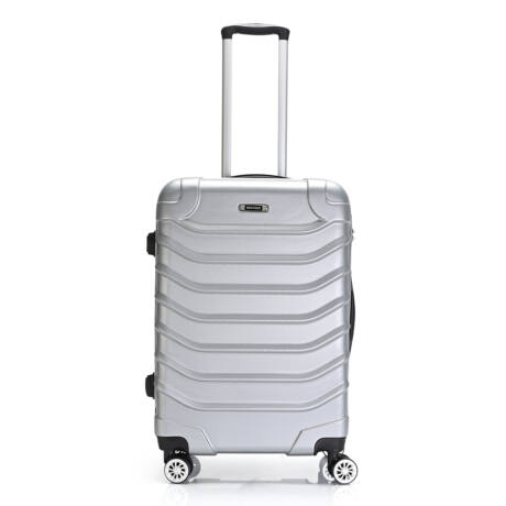 Bontour Basic kemény bőrönd 67cm 2026-M# Ezüst