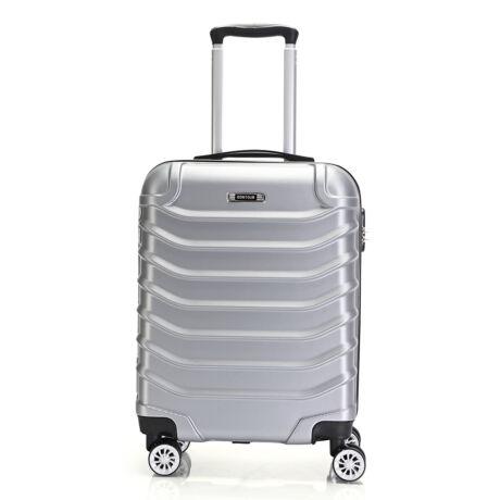 Bontour Basic kemény kabinbőrönd 55x40x20cm 2026-S# Ezüst