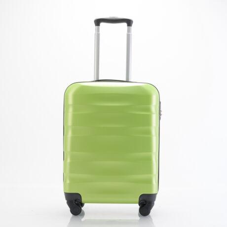 Ryanair/WizzAir Kabinbőrönd 55x40x20cm Zöld