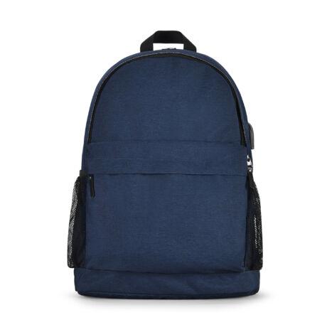 Bontour 210501 15.6'' USB-s laptop hátizsák kék