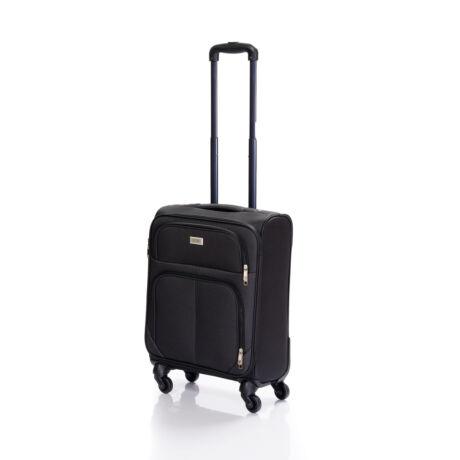 Bontour Basic Kabinbőrönd 55x40x20cm Fekete C214#