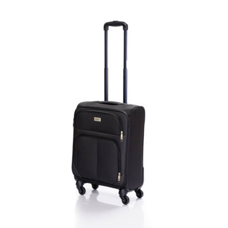 Bontour Basic Kabinbőrönd 55x40x20cm Fekete