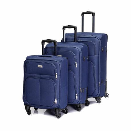 Bontour Basic Puha Bőrönd Szett Kék