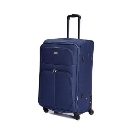 Bontour Basic Nagy Bővíthető Puha Bőrönd Kék 214#