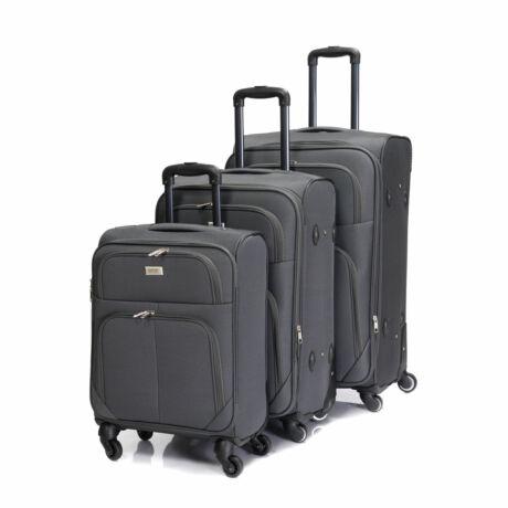 Bontour Basic Puha Bőrönd Szett Szürke 214#