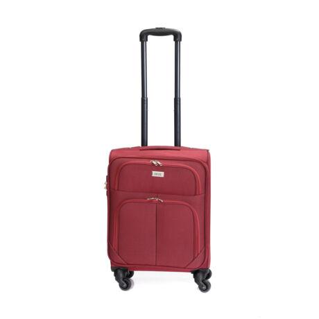 Bontour Basic Kabinbőrönd 55x40x20cm bordó