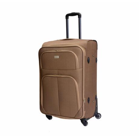 Bontour Basic Nagy Bővíthető Puha Bőrönd Világos Barna 214#