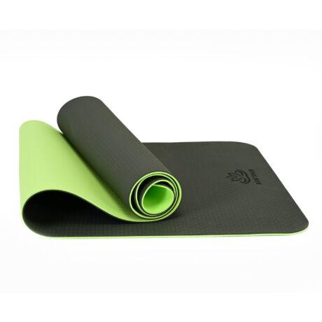 Bontour BALANCE TPE Jógaszőnyeg 6mm Sötétzöld / zöld