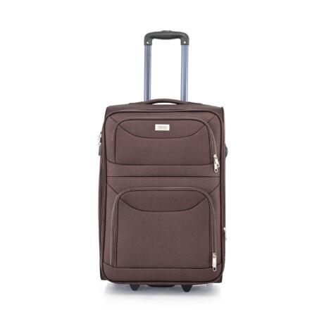BONTOUR 2 kerekű Basic bőrönd Bővíthető 64 x 42 x 28/31cm Barna