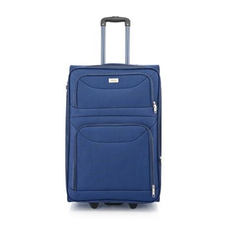 BONTOUR 2 kerekű Basic bőrönd Bővíthető 72x48x33/36cm Kék