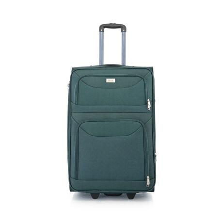 BONTOUR 2 kerekű Basic bőrönd Bővíthető 72x48x33/36cm Zöld
