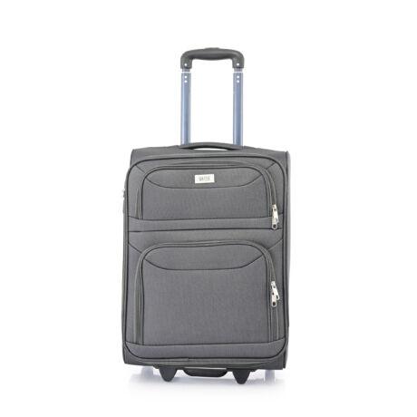 Ryanair/WizzAir Kabin Bőrönd (2 KERÉKÜ) 55x39x20cm Szürke