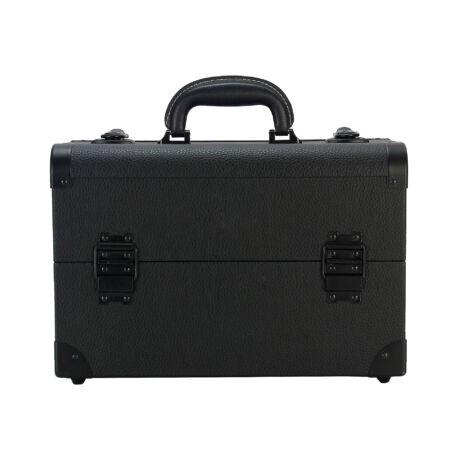 Kozmetikai táska / Smink Doboz, fekete színben, 36x24x22cm