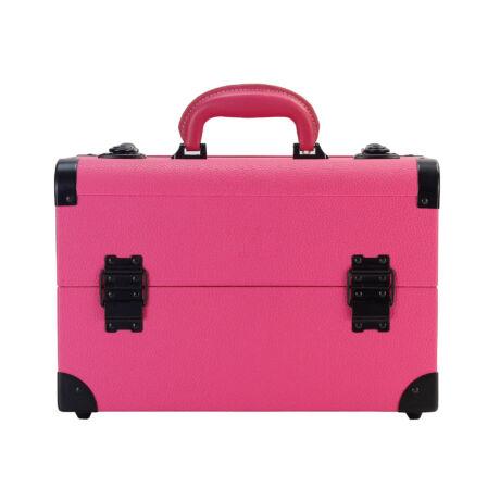 Kozmetikai táska / Smink Doboz, Rózsaszín, 36x24x22cm