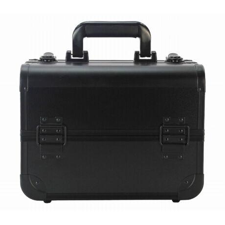 Kozmetikai táska / Smink Doboz, Fekete, 30x22,5x22cm