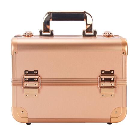 Kozmetikai táska / Smink Doboz, Rosegold, 30x22,5x22cm