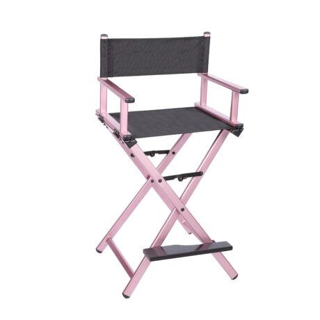 Összecsukható smink szék pink színben