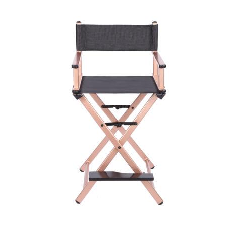 Összecsukható smink szék rosegold színben