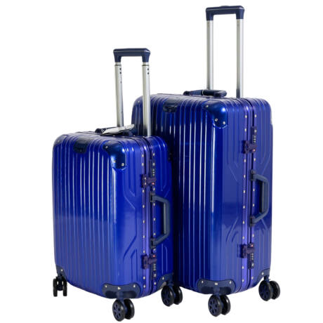 2 db-os Bőrönd Szett (S+M) TSA zárral