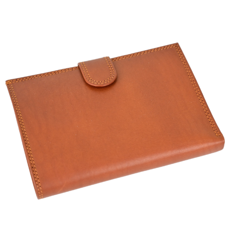 Valódi bőr női pénztárcá OP8052 MARRONE